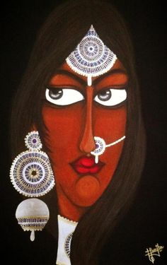 A painting by Muniba Mazari