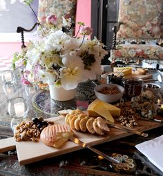 gorgeous cheese platter