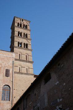 Foro Romano, Rome, Italy : Santa Francesca Romana Basilica