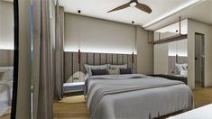grammiki-a-diakosmites-arxitektones-3 hotel design halkidiki Divider, Bed, Room, Furniture, Design, Home Decor, Bedroom, Decoration Home, Stream Bed