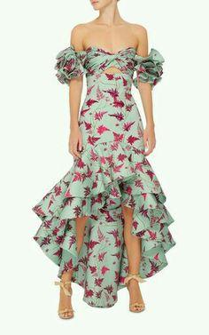 M'O Exclusive Clarissa Dress by Johanna Ortiz Dress Outfits, Fashion Dresses, Dress Up, Ruffle Dress, Moda Floral, Look Fashion, Womens Fashion, Beautiful Dresses, Party Dress
