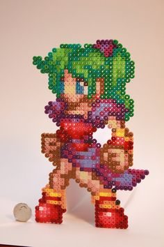 Terra FF perler beads by kiskekokanut