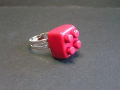 bague imitation lego en fimo de Jewelry fimo sur DaWanda.com