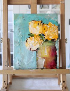 """From the new """"Sublime"""" series Canvas Painting Designs, Acrylic Painting Flowers, Oil Painting Abstract, Abstract Flowers, Acrylic Painting Canvas, Diy Painting, Watercolor Flowers, Watercolor Art, Canvas Art"""