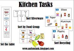 """Life Skills """"Kitchen"""" Task Ideas"""