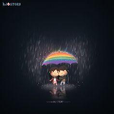 HJ-Story :: Rainlove