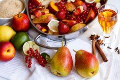 Domácí pečený čaj - decoDoma Fruit Salad, Baked Goods, Pear, Cherry, Yummy Food, Baking, Vegetables, Pastries, Christmas Ideas