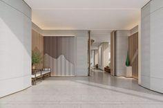 Hotel Corridor, Marketing Office, Sales Office, Valley Road, Auditorium, Entrance, Stairs, Interior Design, Furniture