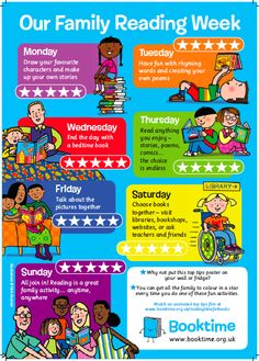 Our Family Reading Week poster