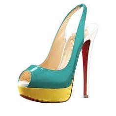 Amaeball shoes. Like I need to be any taller!