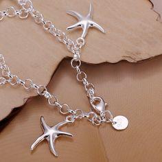 Cute Design Starfish Shape Bracelet For Women #women, #men, #hats, #watches, #belts, #fashion