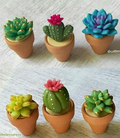 Discover thousands of images about Succulent Mold - Plant Silicone Fondant Mold - Succulent Candle - Succulent Plant Mold - Succulent Fondant Mold - Chocolate Mold Polymer Clay Kunst, Polymer Clay Kawaii, Polymer Clay Figures, Polymer Clay Miniatures, Polymer Clay Projects, Polymer Clay Charms, Polymer Clay Creations, Diy Clay, Clay Crafts