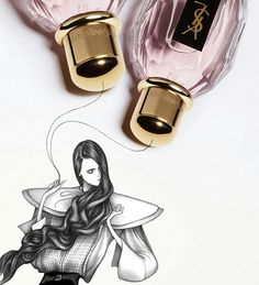 Laura Laine (Fashion Illustrator)- The Dream Weaver World Of Fashion, Fashion Art, Fashion Design, Modern Fashion, Muse Magazine, Fashion Sketches, Fashion Illustrations, Fashion Drawings, Art Illustrations