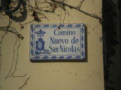 Camino Nuevo de San Nicolas