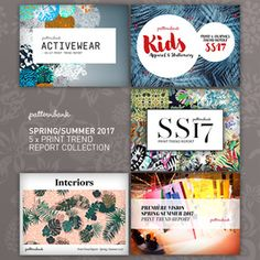 This is Patternbank's definitive Spring/Summer 2017 Print Trend Report Collection which contains our 5 in-depth reports covering Activewear, Kidswear, Interiors, Premiere Vision and our indispensable Print & Pattern report in one excellent value bundle. Lace Drawing, Stationery Printing, Repeating Patterns, Color Trends, Fashion Prints, Print Patterns, Spring Summer, Kidney Table, Rose Prints