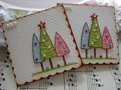 Christmas Tree Embellishments | Handmade by me. TFL :) | Flickr