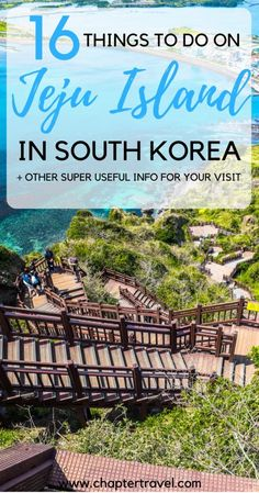 Jeju Island in South Korea | Practical Information for Jeju Island | What is the best time to visit Jeju Island | How to get around Jeju Island | Rent a car on Jeju Island | Public transportation on Jeju Island | Climb Mount Hallasan | Hyeopjae Beach | Visit Seongsan Ilchulbong Peak | Olle Trails Jeju Island | Loveland, Jeju Island | Gimyeong Maze Park | Yeomiji Botanical Garden | Waterfalls Jeju Island | O'Sulloc Museum | Udo Island | Destinations in South Korea | Traditional Food Jeju…