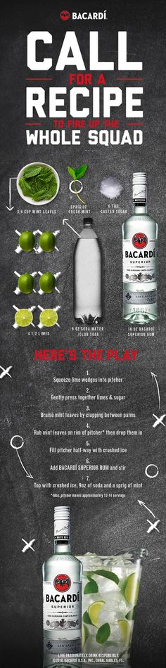 Looking for more simple football party tips and ideas?  Catch them at the BACARDÍ Big Game board.