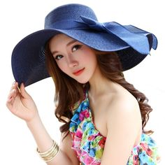 b94c018708c Straw Hats For Women s Female Summer Ladies Wide Brim Beach Hats Sexy  Chapeau Large Floppy Sun Caps New Brand Spring Praia