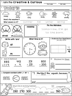 Morning Work: Second Grade May Packet School Resources, Teaching Resources, Irregular Past Tense Verbs, Smart Board Activities, All About Me Preschool, Bell Work, Teacher Pay Teachers, Teacher Stuff, Writing Assignments