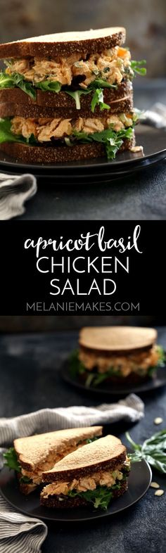 Dried apricots and fresh basil, add bright, warm weather flavors that would make…