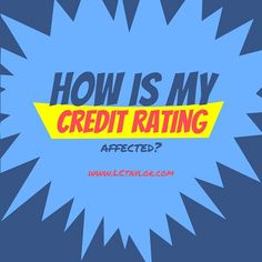 It is the lender's individual credit scoring system that determines access to credit. http://lctaylor.com/how-is-my-credit-rating-affected/