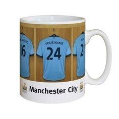 Personalised Manchester City Dressing Room Mug #ManchesterCity #FootballGifts £10.99