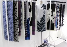 The collection at degree show