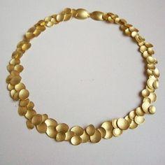 Kayo Saito: Small Petal Necklace  absolutely gorgeous