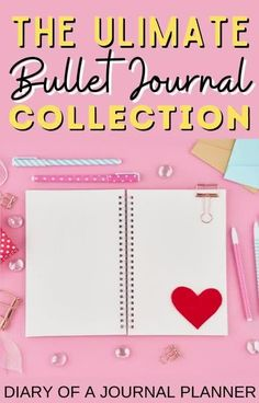 Running out of ideas of what to include in your bullet journal to improve your life? Read here for 100+ bullet journal collection ideas! #bulletjournalideas #bulletjournalcollection #bujo Bullet Journal Hacks, Bullet Journal Printables, Journal Prompts, Journal Pages, Bujo Monthly Spread, Sticker Organization, Planner Ideas, Bullet Journal Inspiration, Hacks Diy