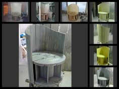 #PalletFurniture, #RecycledPallet