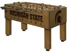 Use this Exclusive coupon code: PINFIVE to receive an additional 5% off the Michigan State University Spartans Foosball Table at sportsfansplus.com