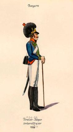 Sottufficiale dell'11 rgt. di fanteria della linea bavarese