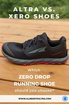 Which Zero Drop Running Shoe is best for you? Altra vs. Xero Shoes. Does cushioning matter? Do they fit the same? We find out in this running shoe review. Zero Drop Running Shoes, Running Race, Running Gear, Running Workouts, Training Plan, Cross Training, Running Routine, Silly Questions, Learn To Run