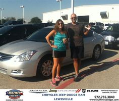 #HappyAnniversary to Pedro Vidal on your 2012 #Nissan #Altima from Mark Gill at Huffines Chrysler Jeep Dodge Ram Lewisville!