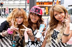 """A an analysis and discussion of the state of Shibuya gyaru culture based on the recent Japan Times article """"Where Have All The Gyaru Gone? Japanese Fashion Trends, Japanese Street Fashion, Tokyo Fashion, Gyaru Hair, Gyaru Makeup, Gyaru Fashion, Harajuku Fashion, Harajuku Style, Shibuya Style"""
