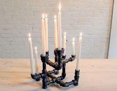 A chic modern candelabra
