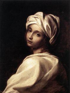 Elisabetta Sirani - Retrato de Beatrice Cenci