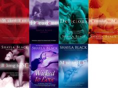 Wicked Lovers Series by Shayla Black! 'Fifty Shades of Grey' times 100!!! Hot hot hot!!!