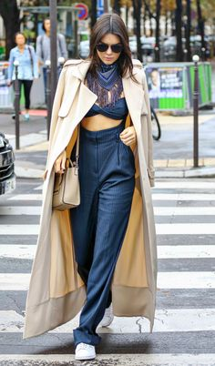 """runwayandbeauty: """" Kendall Jenner arriving at L'Avenue after Chanel Fashion Show during the Paris Fashion Week in Paris, France on October 6, 2015. """""""