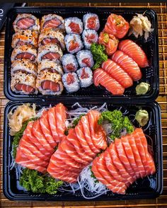Find images and videos about food, yummy and fitness on We Heart It - the app to get lost in what you love. Sushi Recipes, Asian Recipes, Healthy Recipes, I Love Food, Good Food, Yummy Food, Food Platters, Food Goals, Aesthetic Food