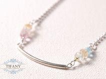 just lovely - versilberte Halskette | by Tifany-Jewelry