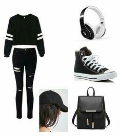 #Ropa #Moda #Outfits #Style #BlackAndWhite