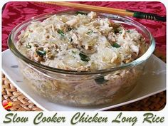 Try this tasty Chicken Long Rice Recipe. A Hawaiian local style favorite. Get more delicious recipes here.