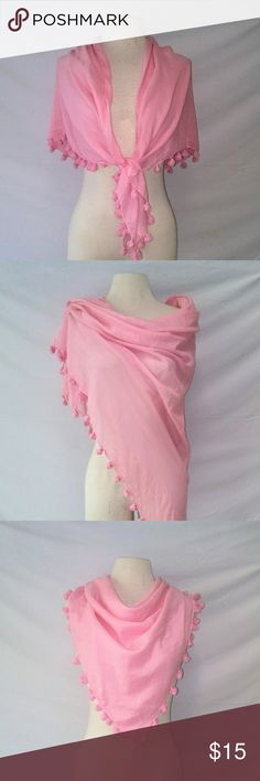 OLD Navy Tasselled Cotton Wrap Light Cotton Candy Pink 100% Cotton Soft Shawl Wrap Cover-up Scarf with Tassels. In excellent used condition. From a smoke free home. Make an offer! BUNDLE & Automatically Get 20% Off on 2+ Items.  New Feature Alert: Bundle one or more items and I'll make you a customized awesome offer! Just bundle and wait for my offer... Up to 40% off - the bigger the bundle the bigger the savings! *2017 SUGGESTED USER* Old Navy Accessories Scarves & Wraps