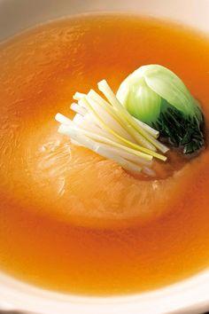 赤坂璃宮 フカヒレ Menu, Soup, Foods, Ethnic Recipes, Menu Board Design, Food Food, Food Items, Soups, Menu Cards