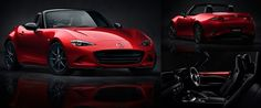 Long live the Roadster! Just one glance and your pulse is racing. Embodying Mazda's powerful award-winning design : KODO: Soul of Motion, this stunning sports car looks poised for action from the moment you sit behind the wheel. The all-new Mazda MX-5 continues to represent everything this iconic car has become legendary for over the past 25 years.