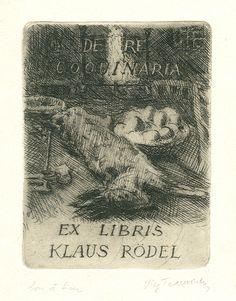 Art-exlibris.net - ex libris di Virgilio Tramontin per Klaus Rödel