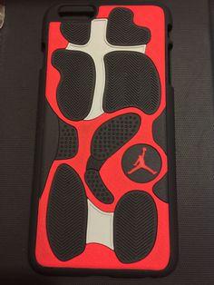 """Air Jordan Retro 13 """"Reflective Silver"""" Phone Case"""
