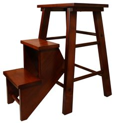 Incredible Folding Step Stool Chair With Classic Design Stool Step Also Square Wood Stool Seat from Kitchen Design - Ideas and Picture